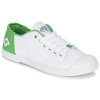 Schoenen Dames Lage sneakers Le Temps des Cerises BASIC 02 Wit / Groen