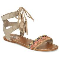Schoenen Dames Sandalen / Open schoenen Le Temps des Cerises KAMPUR Beige