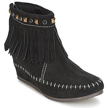 Schoenen Dames Laarzen Les Tropéziennes par M Belarbi BOLIVIE Zwart