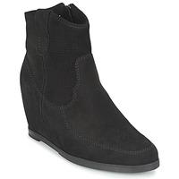 Schoenen Dames Enkellaarzen Myma PERFONOIR Zwart
