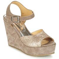 Schoenen Dames Sandalen / Open schoenen Myma RAPHIA Taupe
