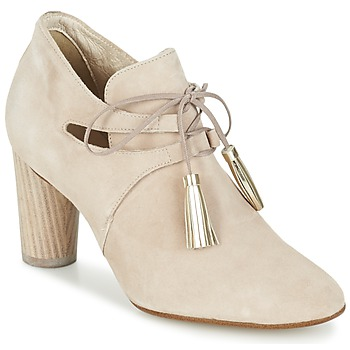 Schoenen Dames Low boots France Mode NANIE SE TA Beige