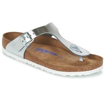 Argent Chaussures Gizeh Birkenstock Q4gUuuqWQ