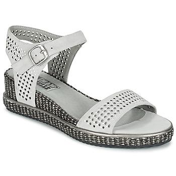Schoenen Dames Sandalen / Open schoenen Mam'Zelle SELDA Grijs