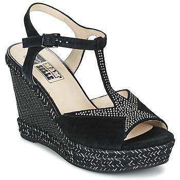 Schoenen Dames Sandalen / Open schoenen Mam'Zelle IMELA Zwart