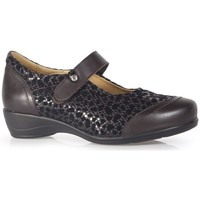 Schoenen Dames Derby & Klassiek Calzamedi  MARRON