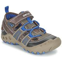 Schoenen Meisjes Sandalen / Open schoenen Geox J SAND.KYLE A Bruin