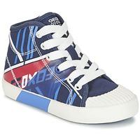 Schoenen Jongens Hoge sneakers Geox J KIWI B. E Marine