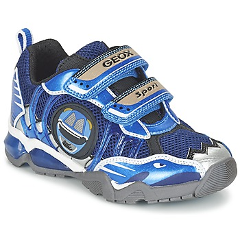 Schoenen Jongens Lage sneakers Geox J SHUTTLE B. B Marine