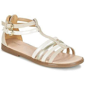 Schoenen Meisjes Sandalen / Open schoenen Geox J S.KARLY G. D Beige