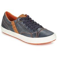 Schoenen Jongens Lage sneakers Geox J ALONISSO B. A Marine / Bruin