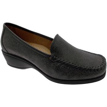 Schoenen Dames Mocassins Calzaturificio Loren LOK3961gr grigio