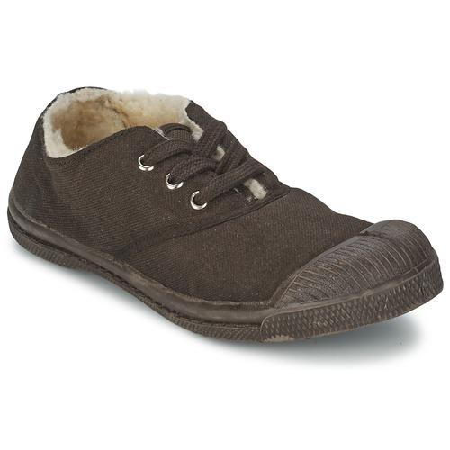 Schoenen Kinderen Lage sneakers Bensimon TENNIS FOURREES Chocolat
