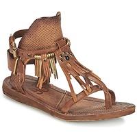 Schoenen Dames Sandalen / Open schoenen Airstep / A.S.98 RAMOS Bruin