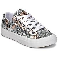 Schoenen Meisjes Lage sneakers Kaporal AMBERA Zilver