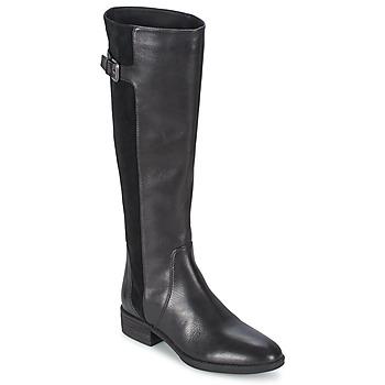 Schoenen Dames Hoge laarzen Sam Edelman PATTON Zwart