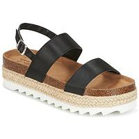 Schoenen Dames Sandalen / Open schoenen Coolway KOALA Zwart