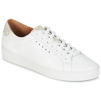 Schoenen Dames Lage sneakers MICHAEL Michael Kors IRVING LACE UP Wit