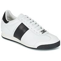 Schoenen Heren Lage sneakers Roberto Cavalli 2042C Wit / Zwart
