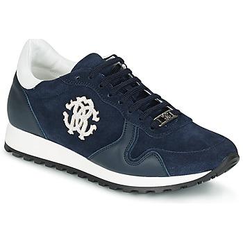 Schoenen Heren Lage sneakers Roberto Cavalli 2058A Marine
