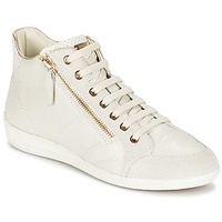 Schoenen Dames Hoge sneakers Geox MYRIA Wit