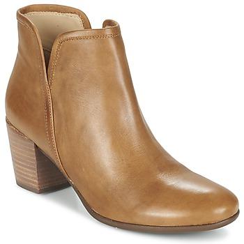 Schoenen Dames Enkellaarzen Geox LUCINDA B Curry