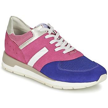 Schoenen Dames Lage sneakers Geox SHAHIRA A Roze / Violet