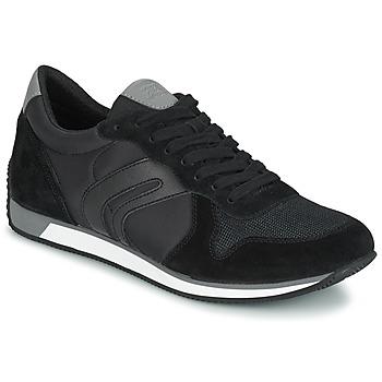 Schoenen Heren Lage sneakers Geox VINTO C Zwart