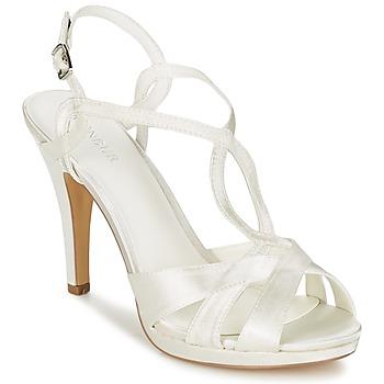 Schoenen Dames Sandalen / Open schoenen Menbur AMPARO Creme