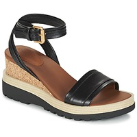 Schoenen Dames Sandalen / Open schoenen See by Chloé SB26094 Zwart