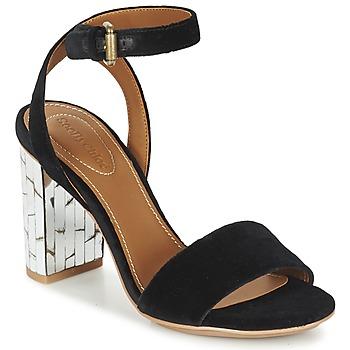 Schoenen Dames Sandalen / Open schoenen See by Chloé SB28001 Zwart / Fluweel
