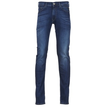 Textiel Heren Skinny Jeans Replay JONDRILL Blauw / Medium