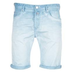 Textiel Heren Korte broeken / Bermuda's Replay RBJ901 Blauw / Turquoize