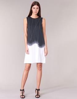 Textiel Dames Korte jurken Replay WOOPINA Zwart / Wit