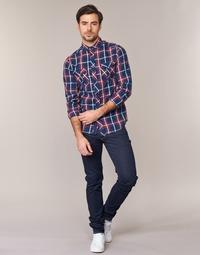 Textiel Heren Skinny jeans Replay WOUAPO Blauw / Brut