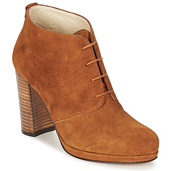 Schoenen Dames Enkellaarzen Betty London PANAY Camel