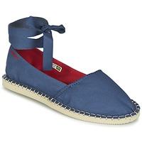 Schoenen Dames Espadrilles Havaianas ORIGINE SLIM Blauw