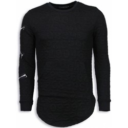Textiel Heren Sweaters / Sweatshirts Justing 3D Numbered Pocket - Long Fit - Zwart