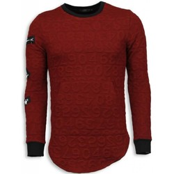 Textiel Heren Sweaters / Sweatshirts Justing 3D Numbered Pocket - Long Fit - Rood