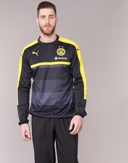 Textiel Heren Sweaters / Sweatshirts Puma BVB TRAINING SWEAT Zwart / Geel