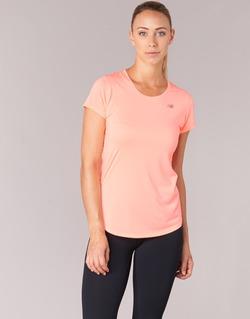 Textiel Dames T-shirts korte mouwen New Balance ACCELERATE T Koraal