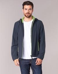 Textiel Heren Wind jackets Geox NEBULA JKT Marine