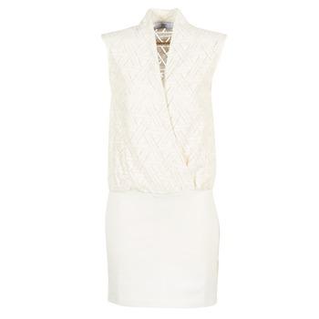 Textiel Dames Korte jurken Le Temps des Cerises SHERY Wit