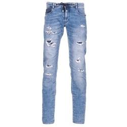 Textiel Heren Skinny jeans Le Temps des Cerises 711 JOGG Blauw / Clair