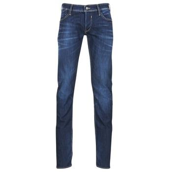 Textiel Heren Straight jeans Le Temps des Cerises 711 Blauw / Donker