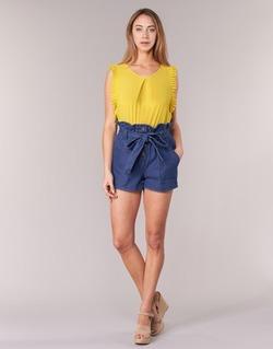 Textiel Dames Korte broeken / Bermuda's Molly Bracken PORLA Blauw