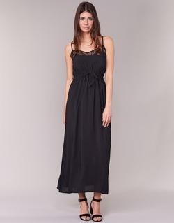 Textiel Dames Lange jurken Molly Bracken TEDER Zwart