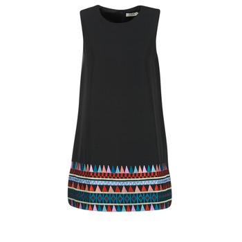 Textiel Dames Korte jurken Molly Bracken MESPT Zwart