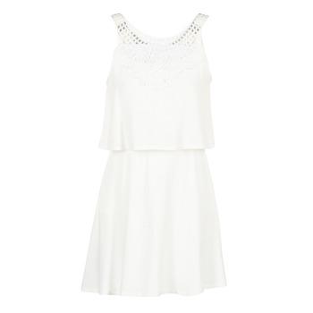 Textiel Dames Korte jurken Molly Bracken SAMARC Ivory