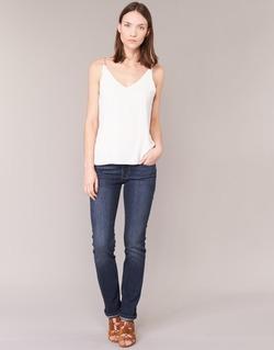 Textiel Dames Straight jeans Levi's 714 STRAIGHT WEST / WONDER